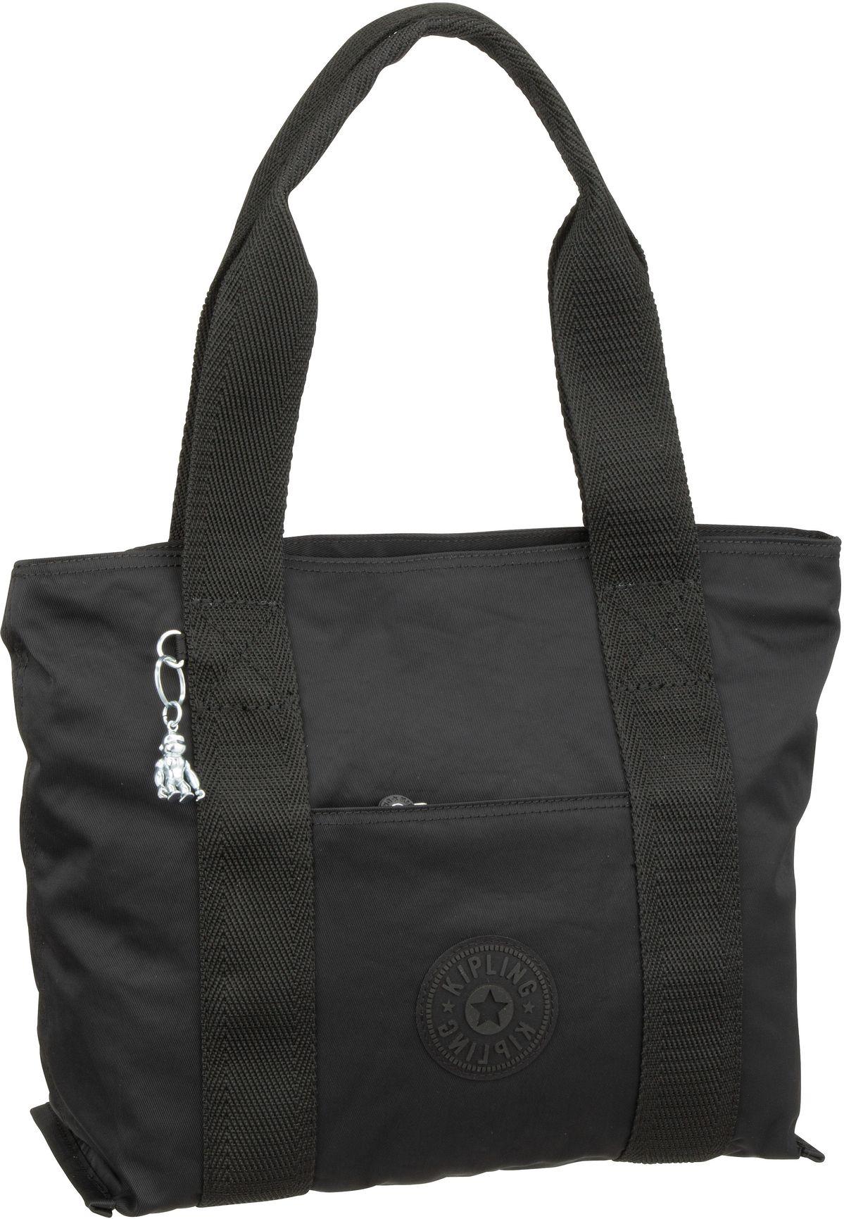 Handtasche Era S Edgeland Rich Black (15 Liter)