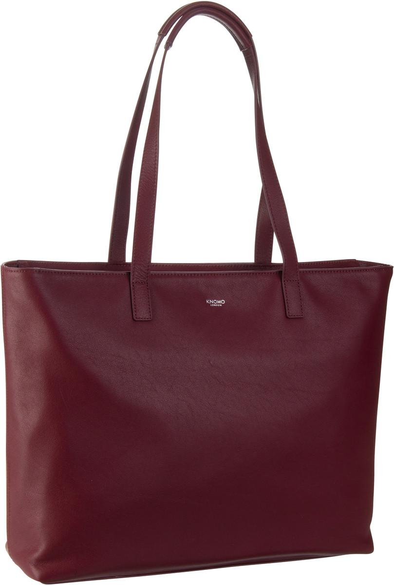Handtasche Mayfair Luxe Maddox 15'' RFID Burgundy