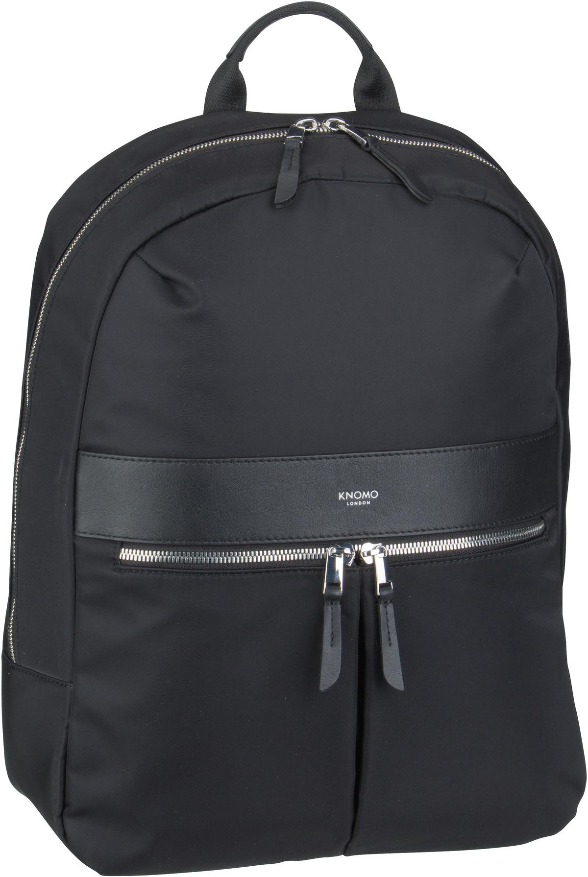 Rucksack / Daypack Mayfair Beauchamp 2.0 14'' Black/Silver (10.5 Liter)