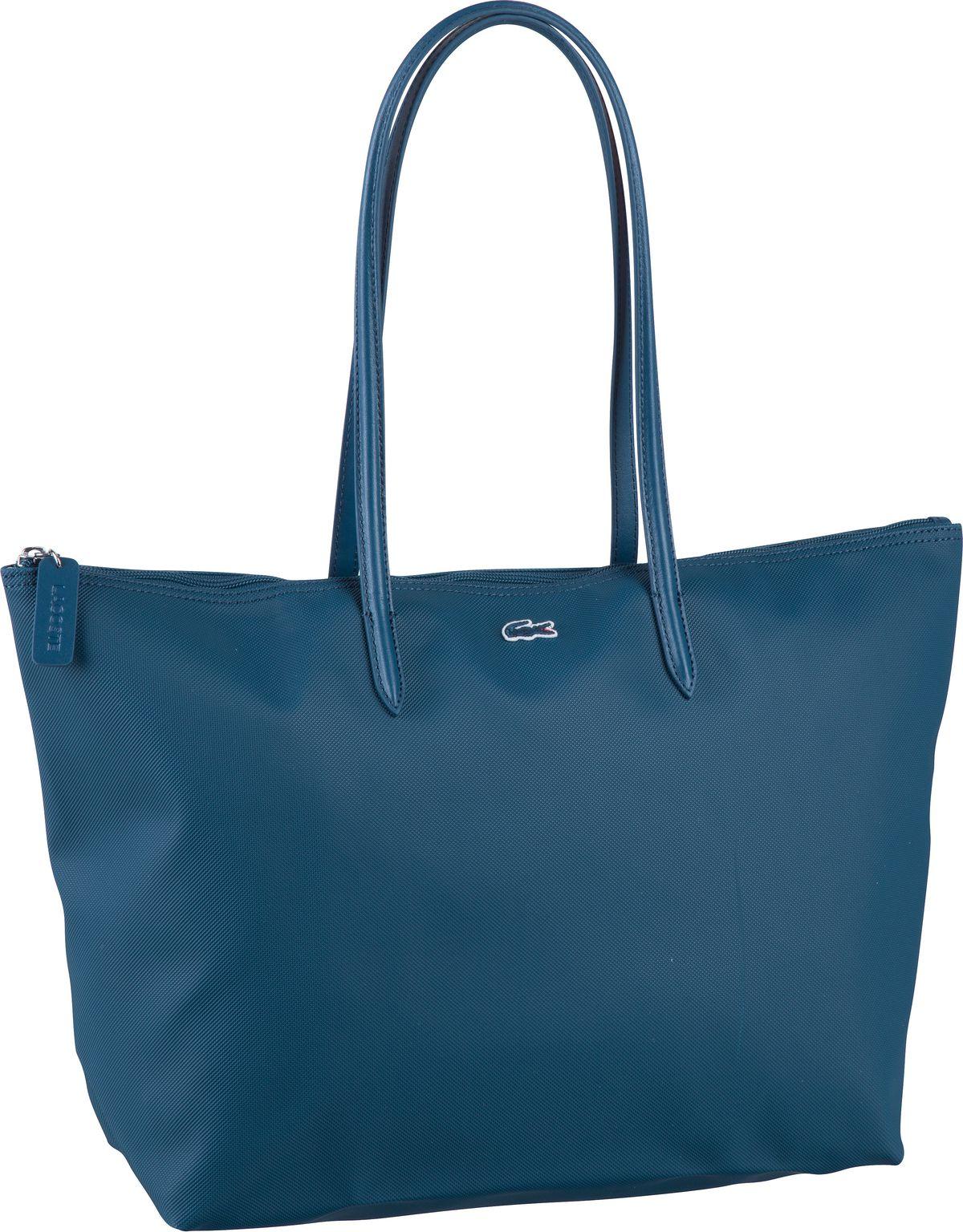 Handtasche L.12.12. Concept Shopping Bag 1888 Poseidon