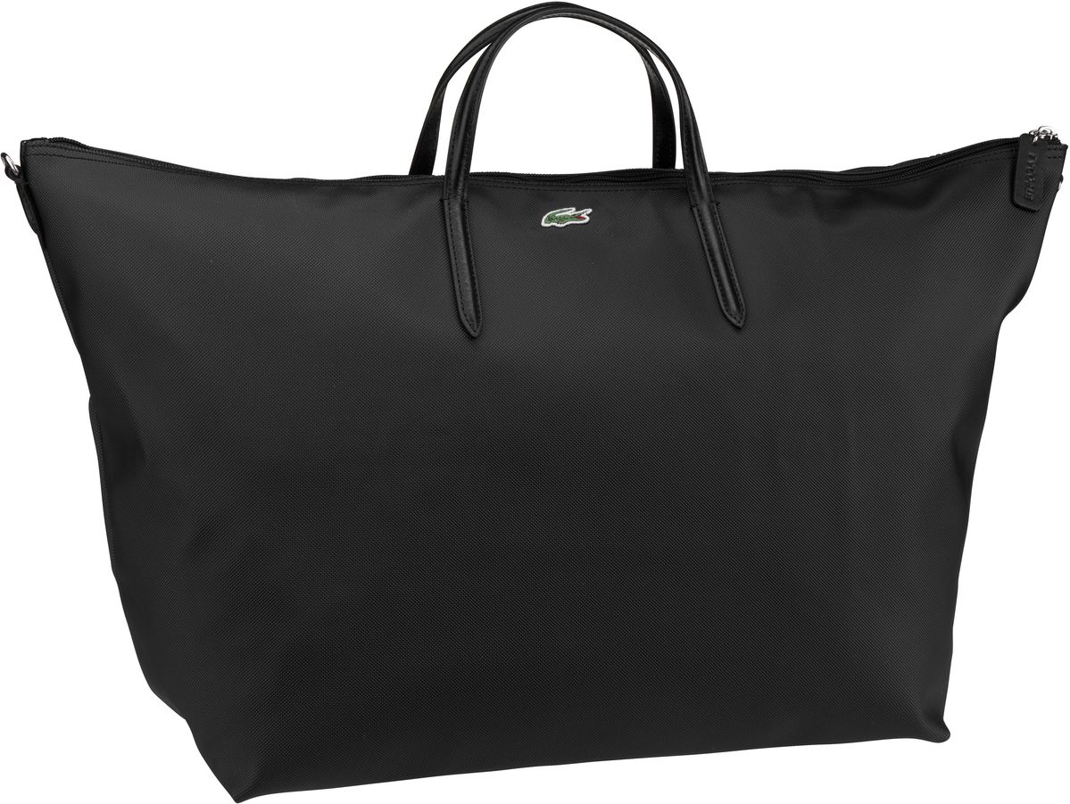 Lacoste Handtasche Travel Shopping 1947 Black