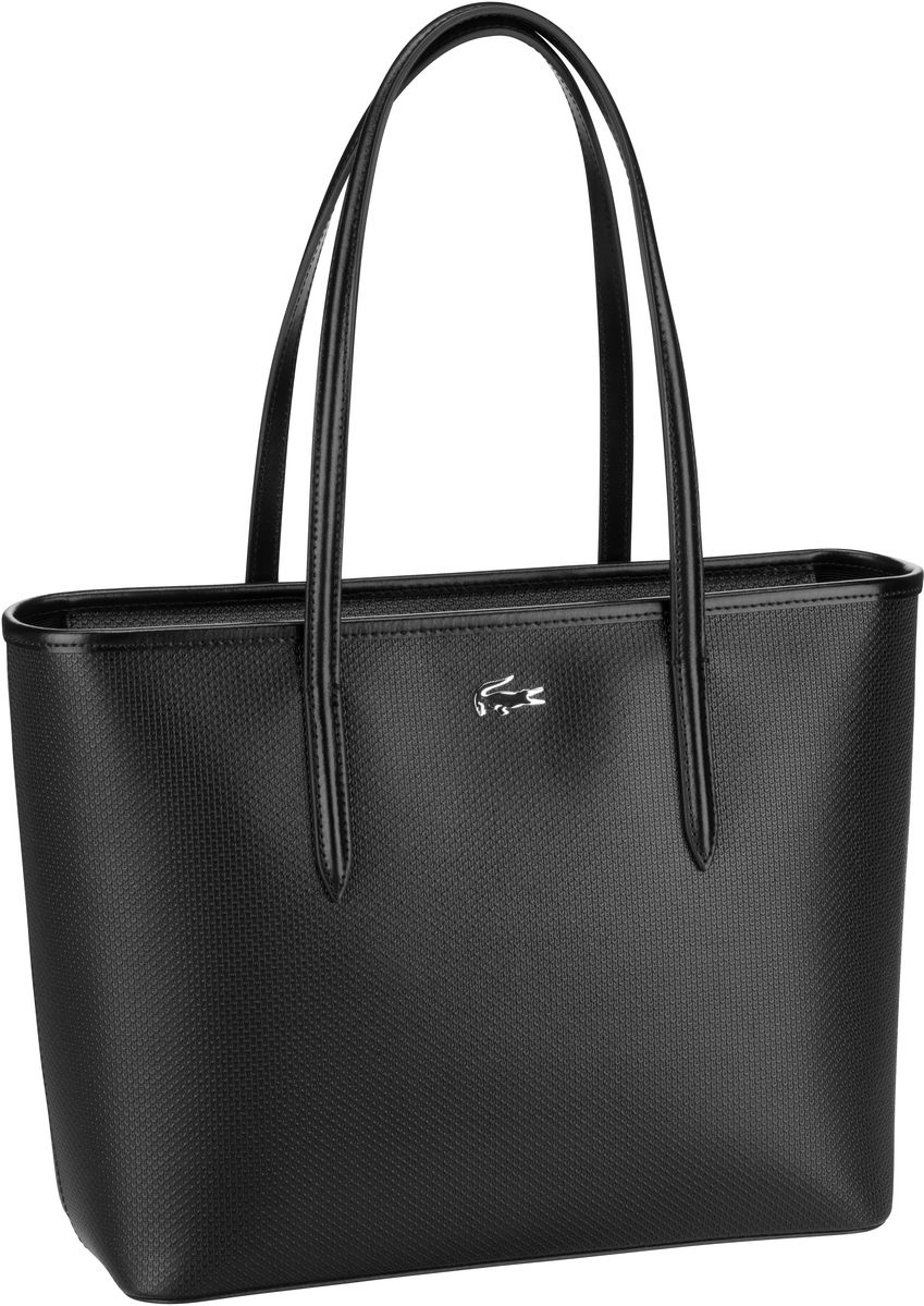 Lacoste Handtasche Zip Shopping M 2116 Black