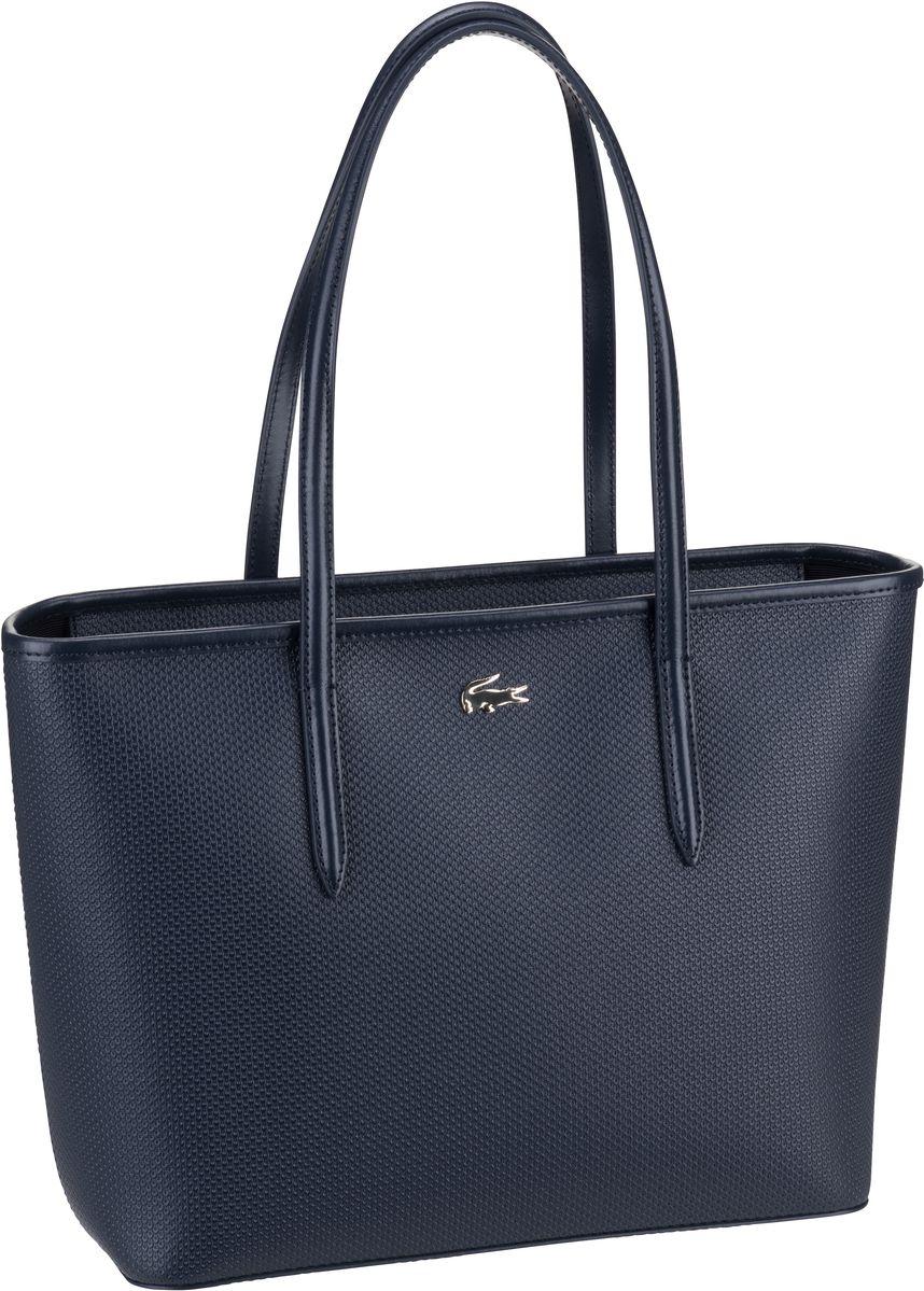 Lacoste Handtasche Zip Shopping M 2116 Peacoat