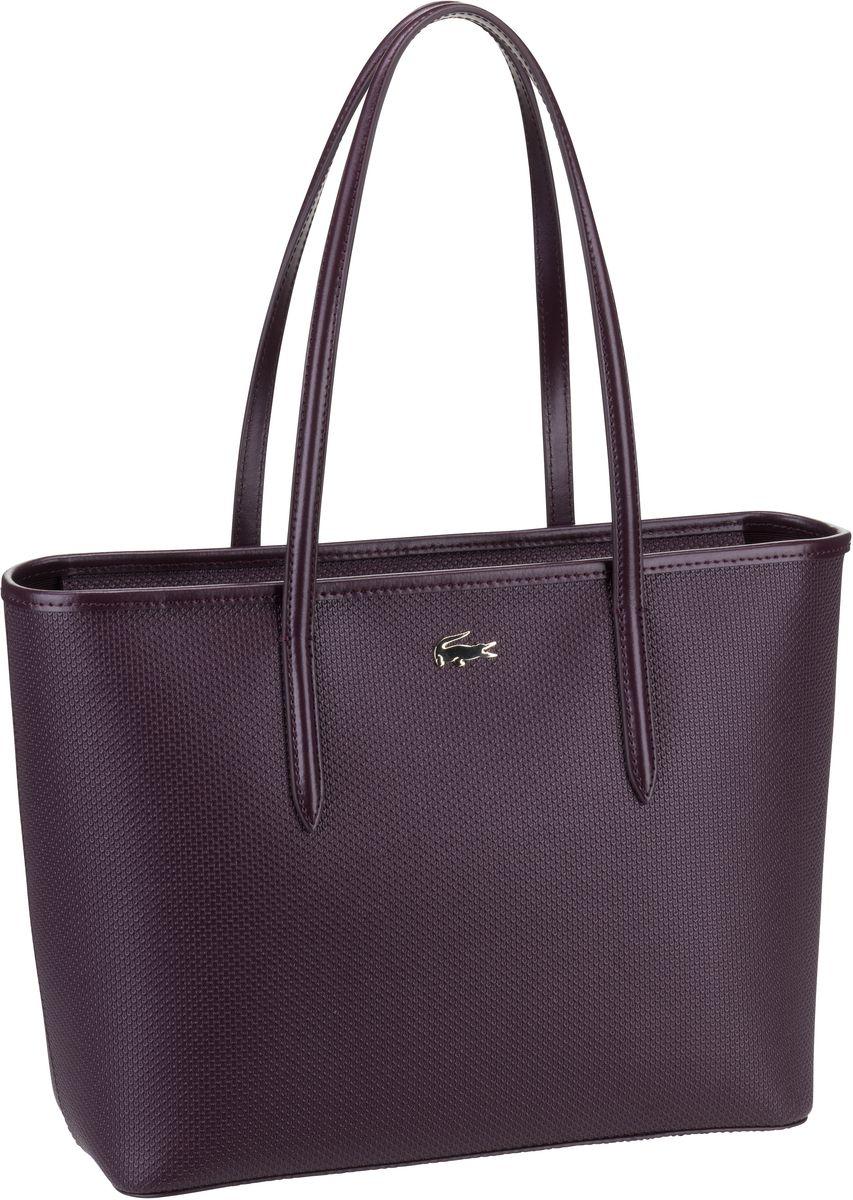 Lacoste Handtasche Zip Shopping M 2116 Winetasting