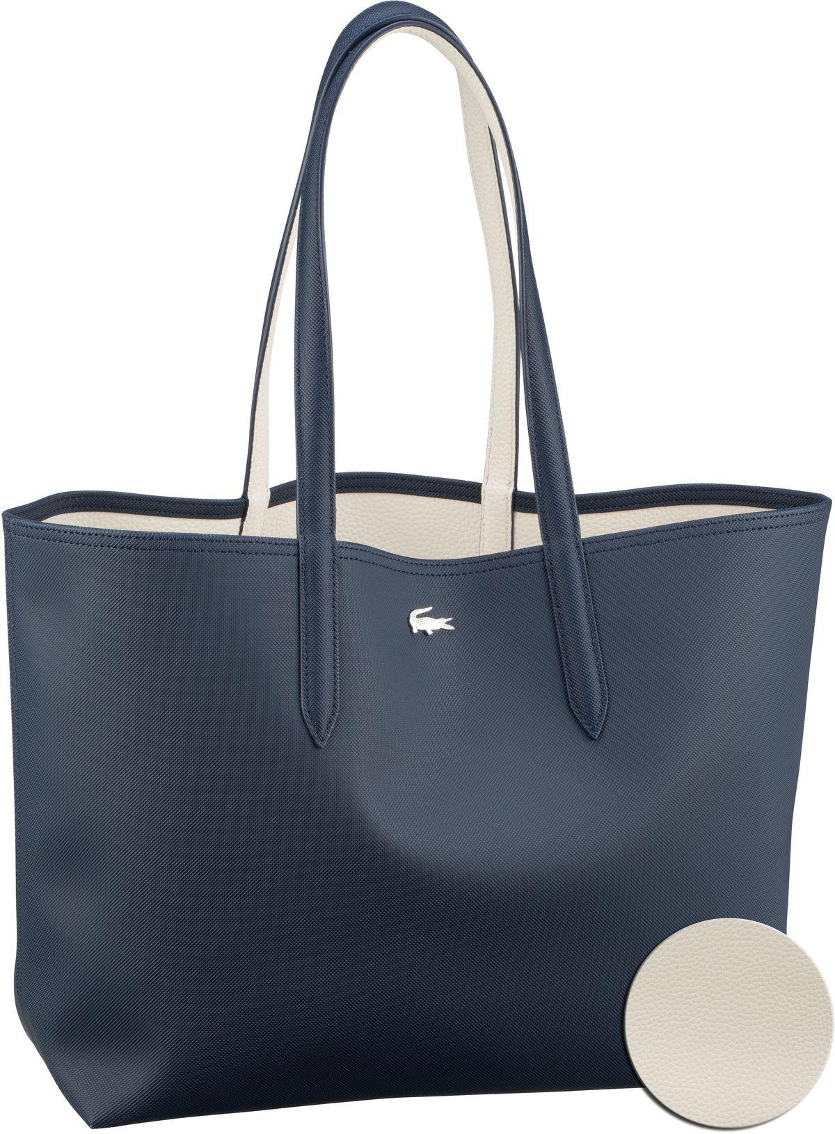 Shopper Anna Shopping Bag 2142 Dark Sapphire/Marshmallow (innen: Weiß)