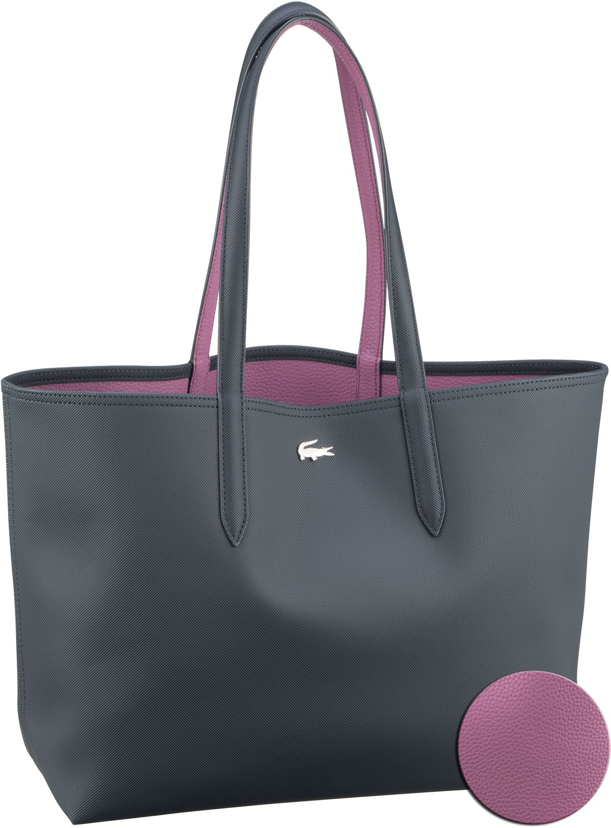 Shopper Anna Shopping Bag 2142 Ebony/Orchid (innen: Violett)