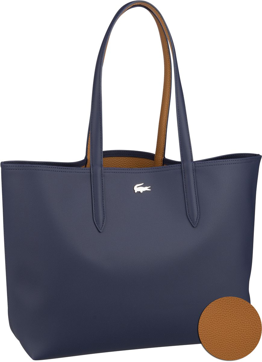 Shopper Shopping Bag 2142 Peacoat/Cashew (innen: Braun)