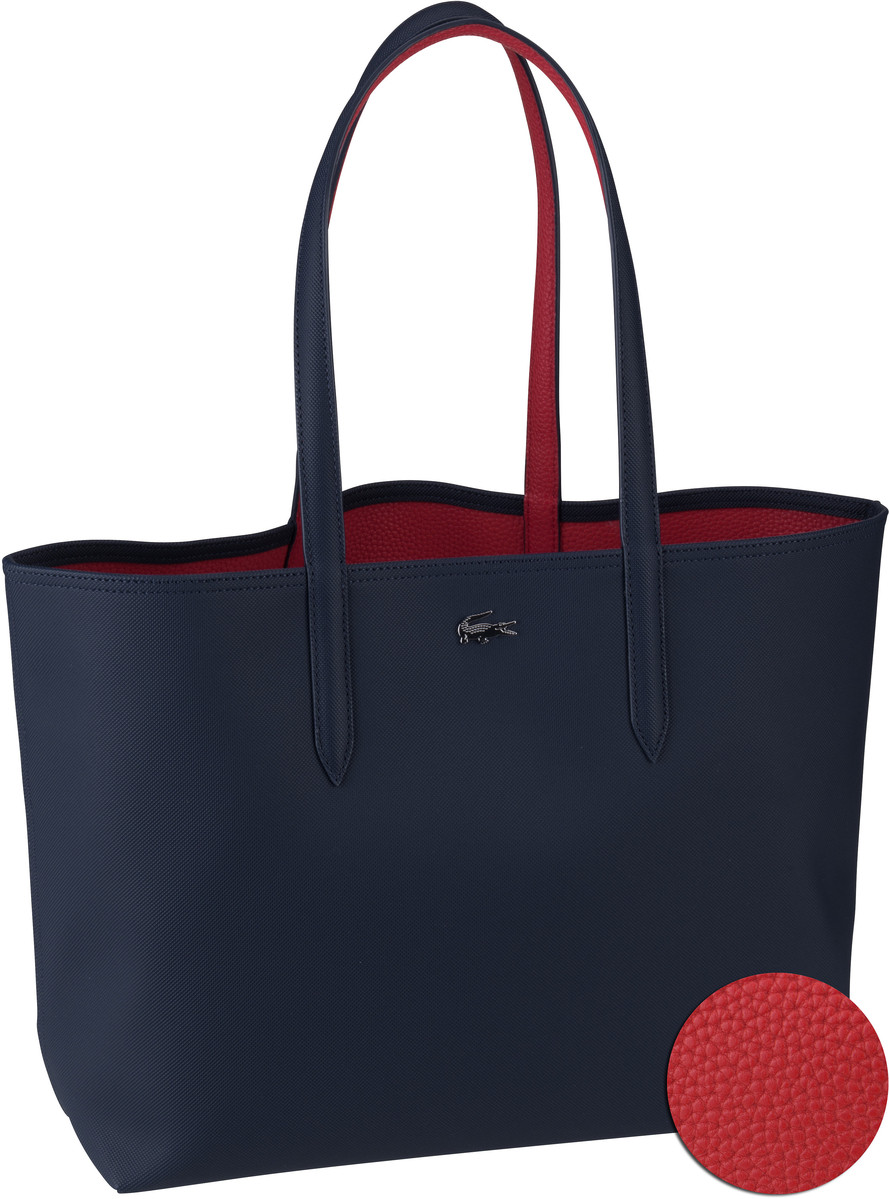 Lacoste Shopper Shopping Bag 2142 Peacoat/Salsa...