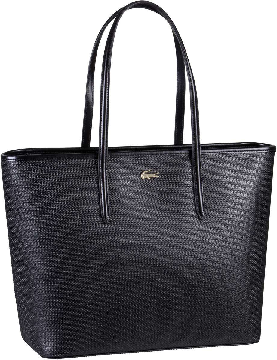 Lacoste Handtasche Zip Shopping Bag 2335 Black