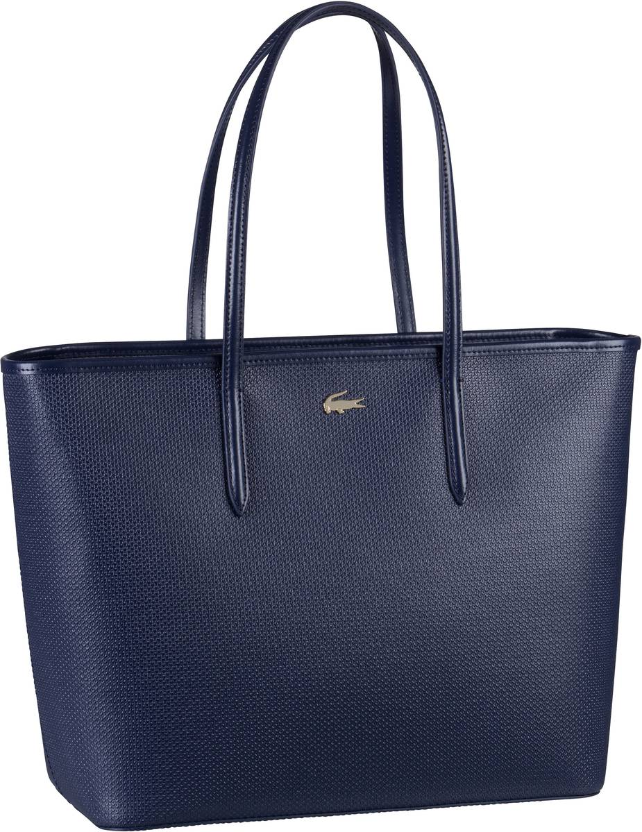 Lacoste Handtasche Zip Shopping Bag 2335 Peacoat