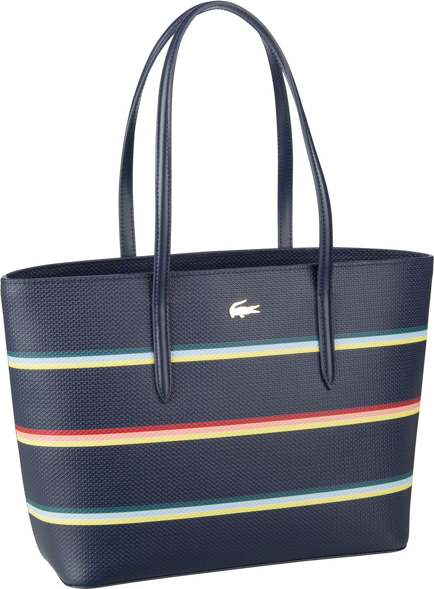 Lacoste Shopper Zip Shopping M 2740 Strip Multico/Peacoat