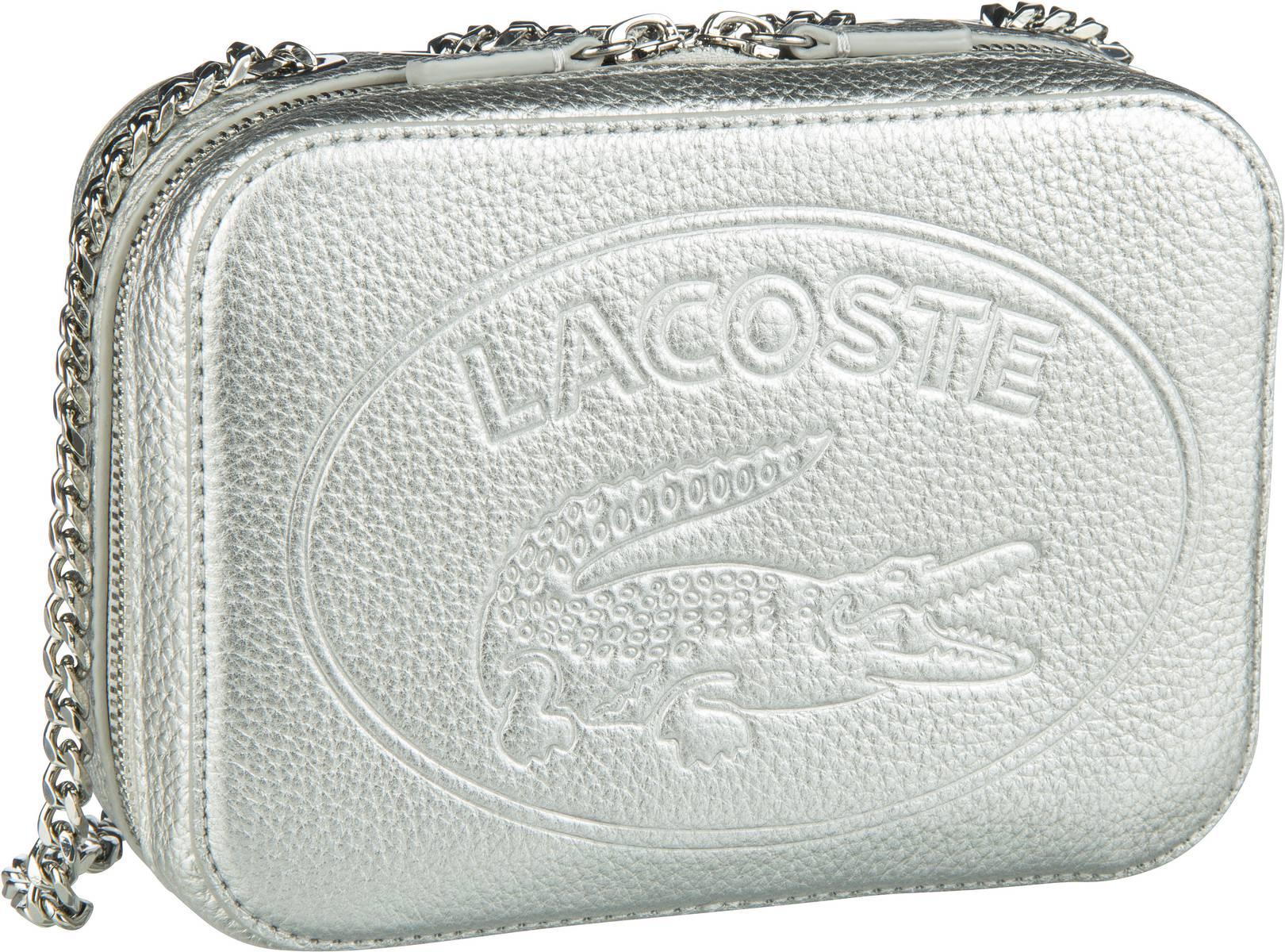 Umhängetasche Croco Crew Crossover Bag 2970 Silver