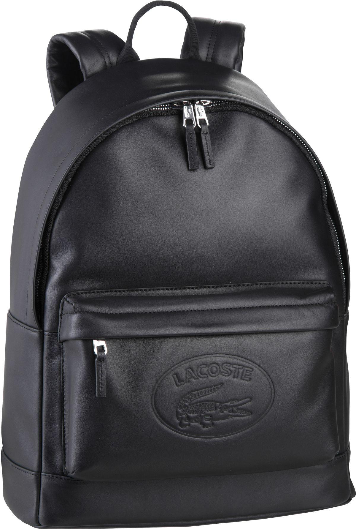 Rucksack / Daypack L.12.12 Cuir Backpack 2652 Black