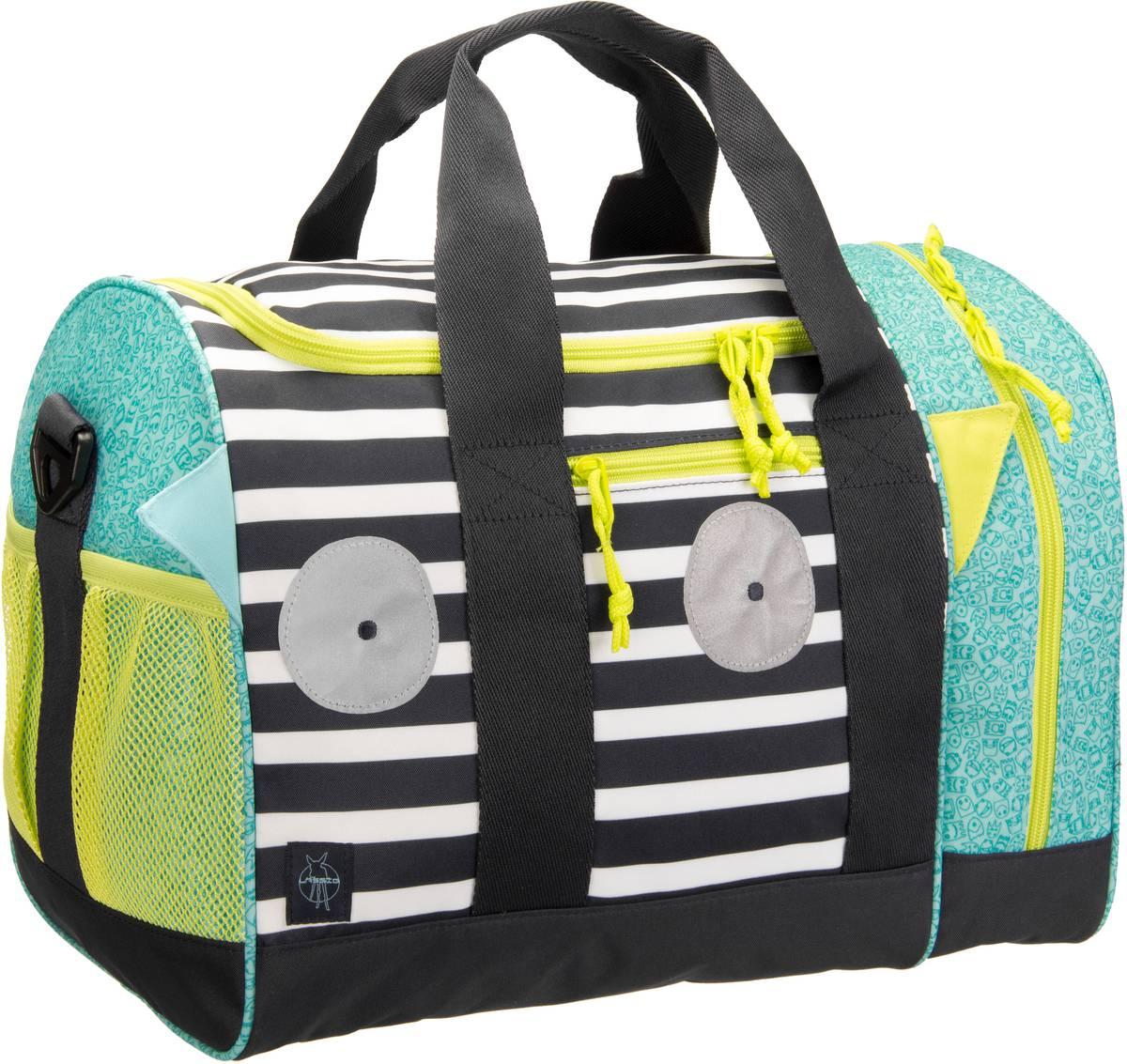 Guhrow Angebote Lässig 4Kids Mini Sportbag Little Monsters - Bouncing Bob Reisegepäck für Kinder