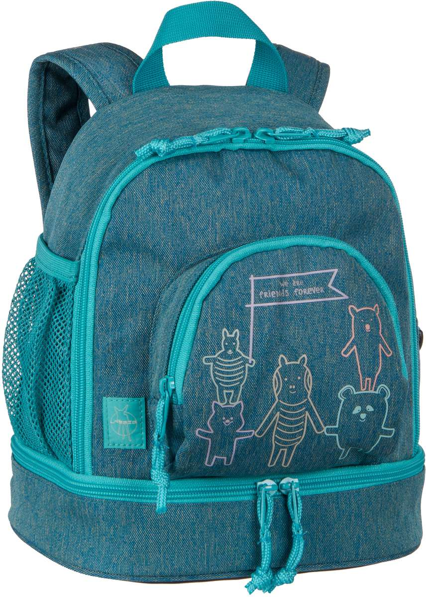 Rucksack / Daypack About Friends Mini Backpack Mélange Blue