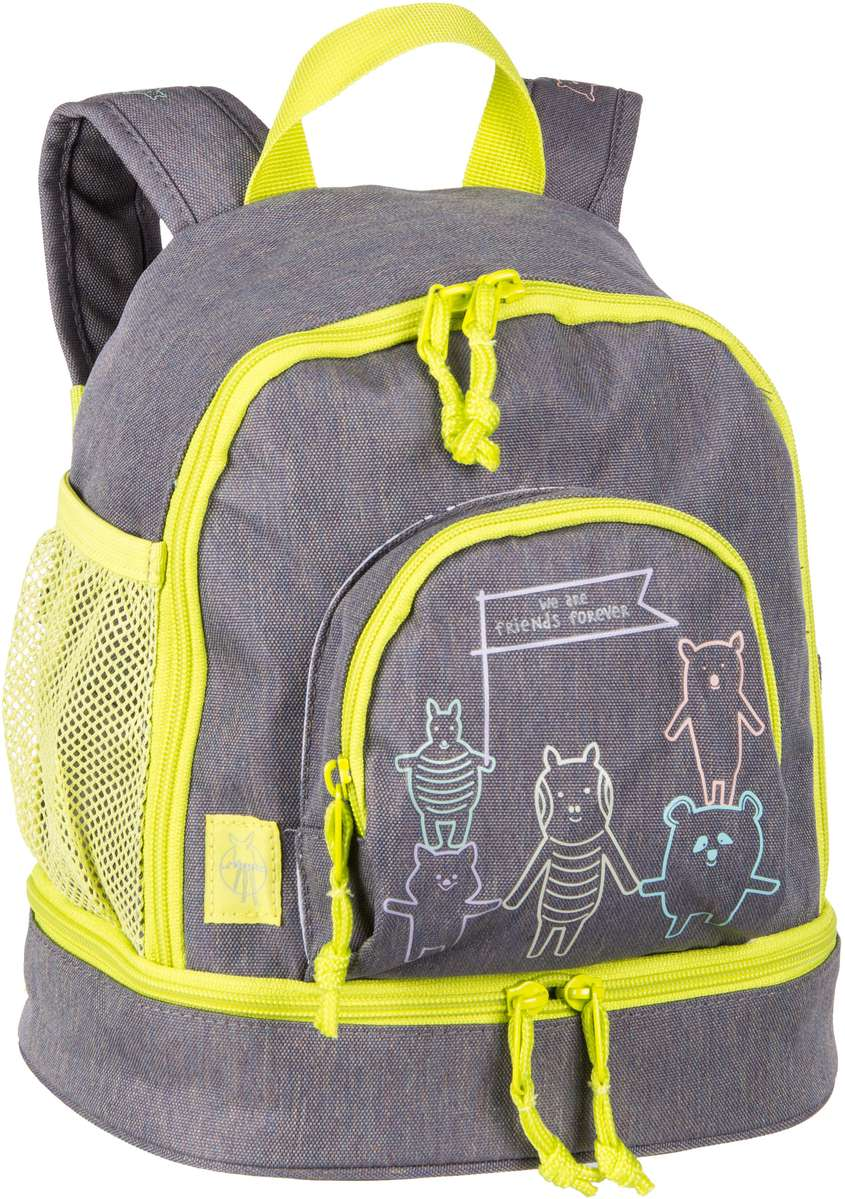 Rucksack / Daypack About Friends Mini Backpack Mélange Grey