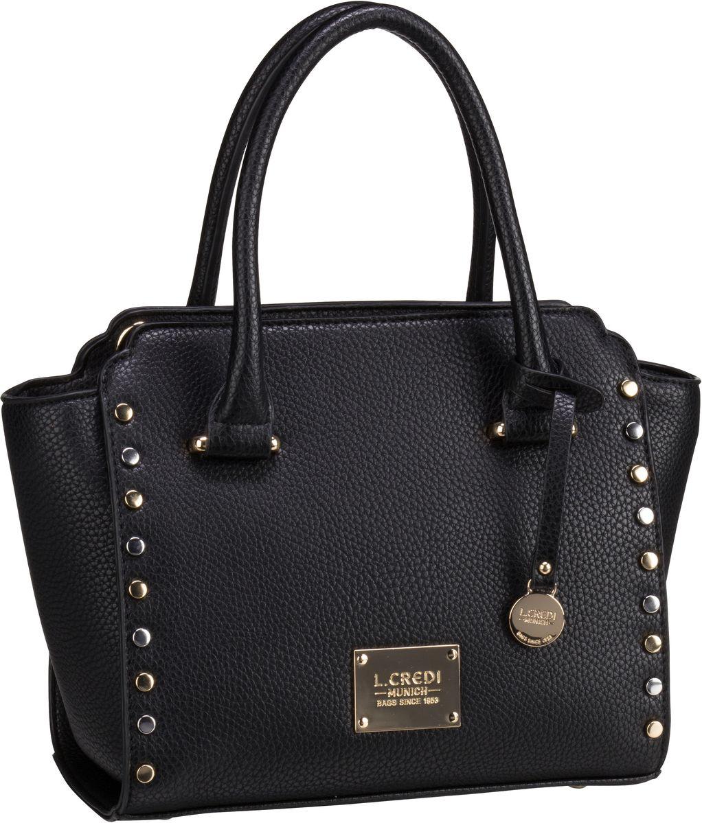 Handtasche Amy 7700 Schwarz