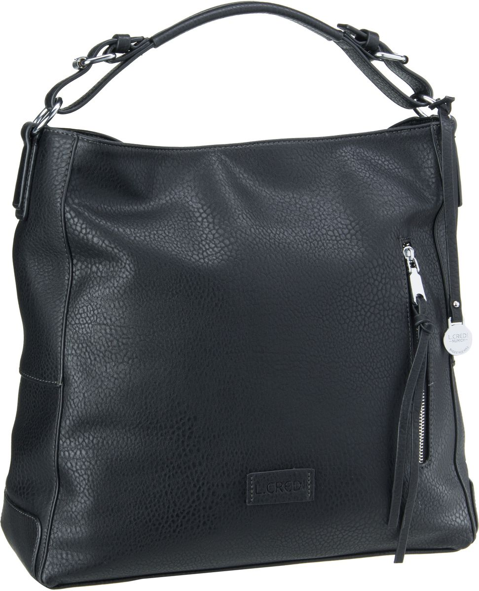 Handtasche Venezia 6026 Schwarz