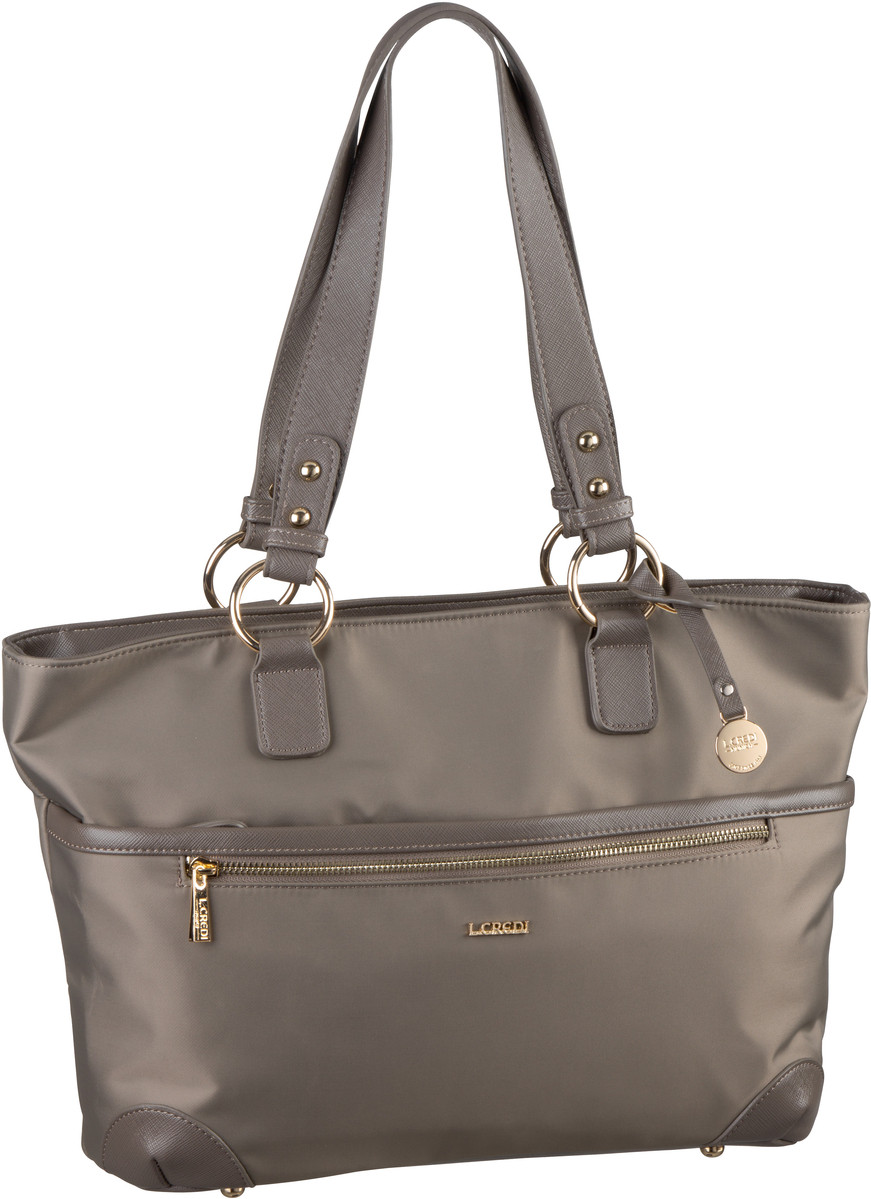 Handtasche Alena 7987 Taupe