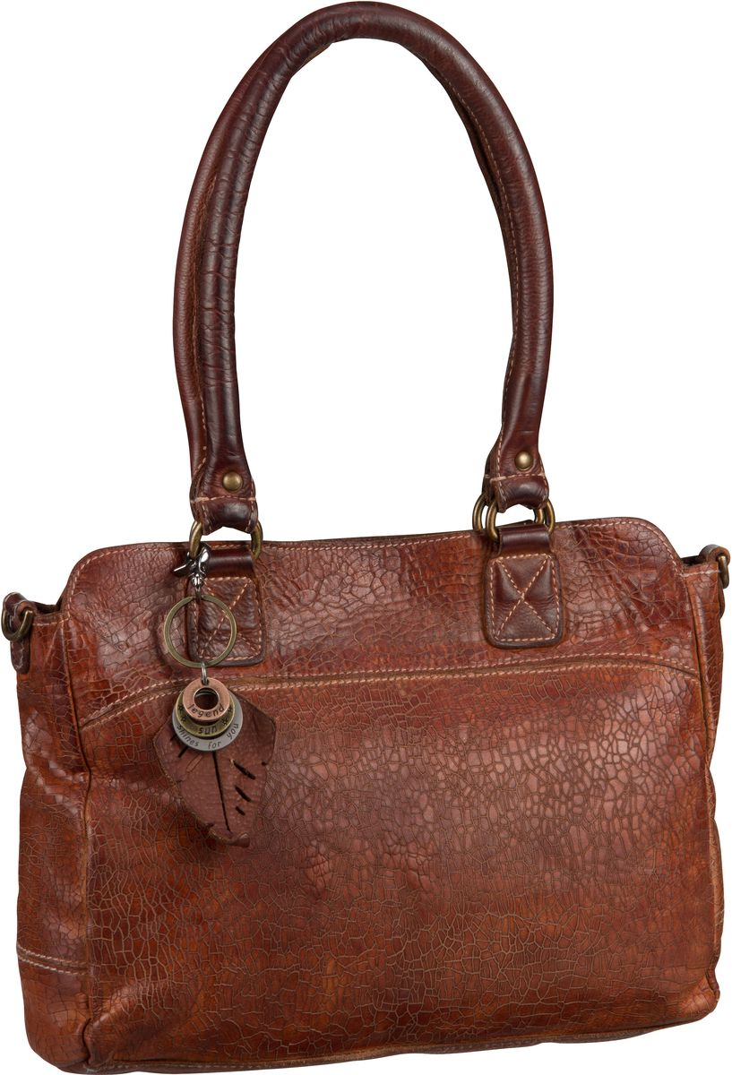 Legend Caines Cognac - Handtasche
