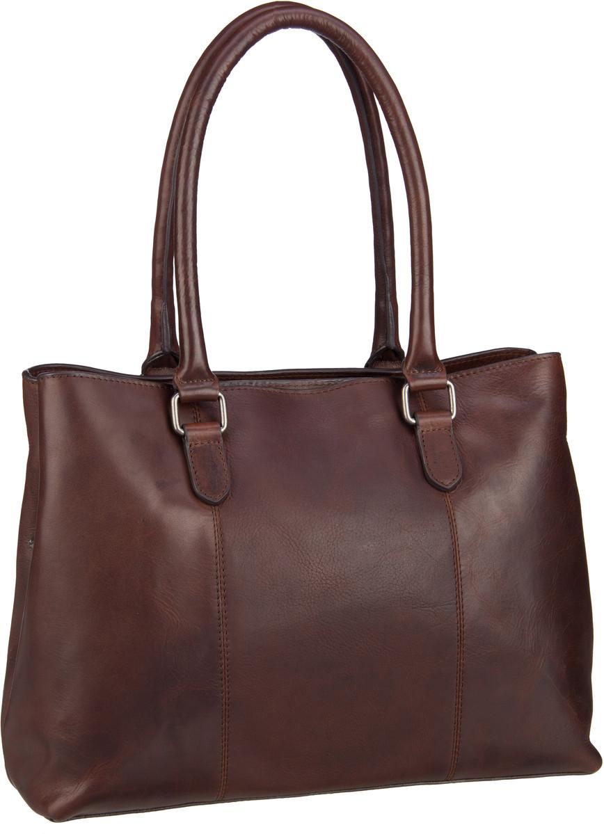 Handtasche Lucca 6379 Cityshopper Braun