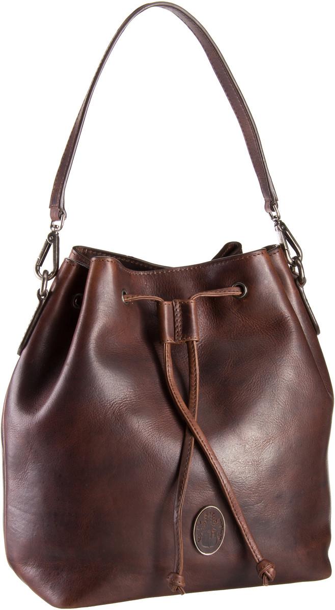 Handtasche Lucca 6380 Hobo Bag Braun