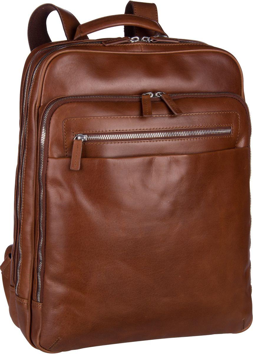 Laptoprucksack Chicago 906808 Businessrucksack Cognac