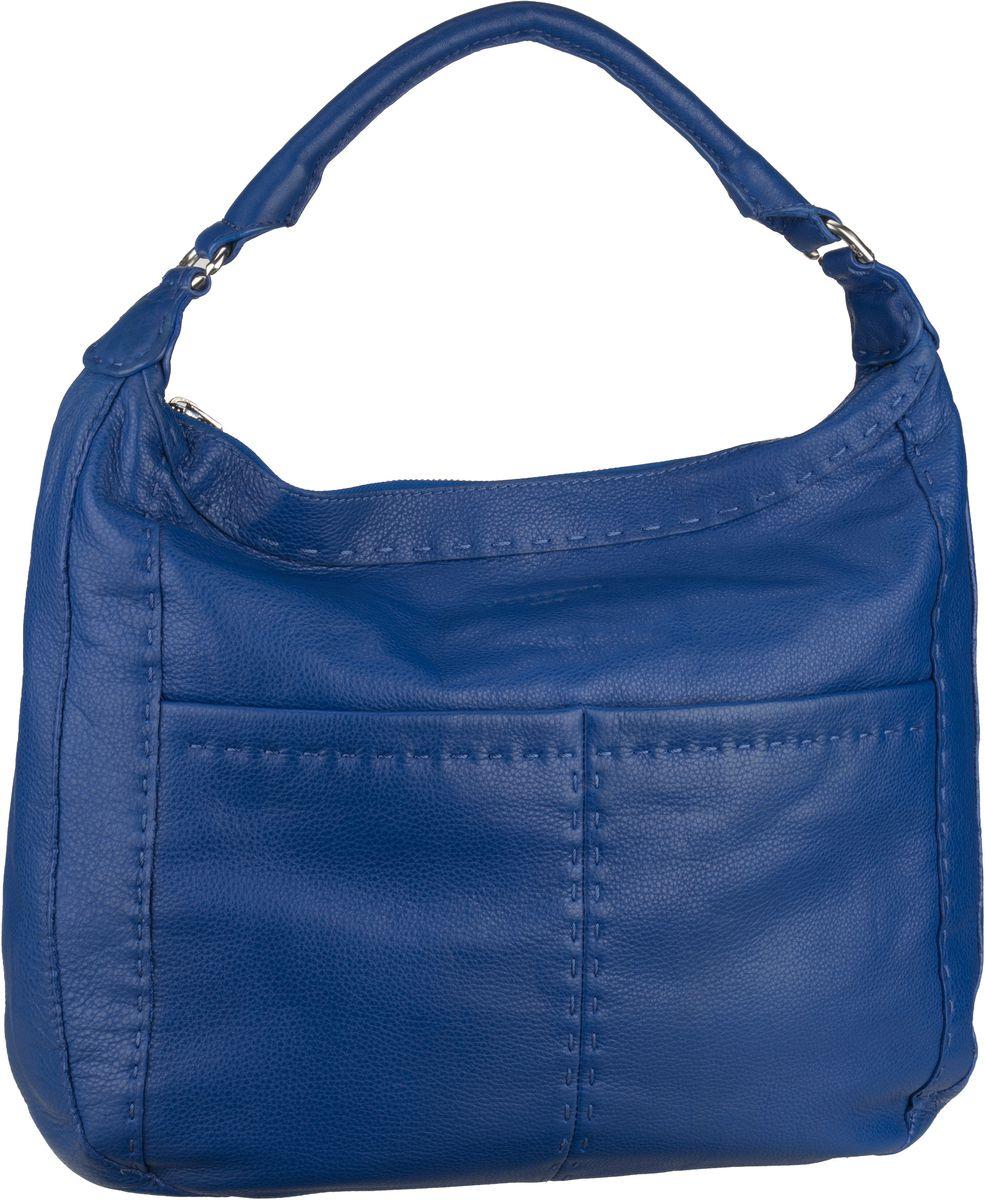 Shopper für Frauen - Liebeskind Berlin Beuteltasche Yonkers Electric Blue  - Onlineshop Taschenkaufhaus