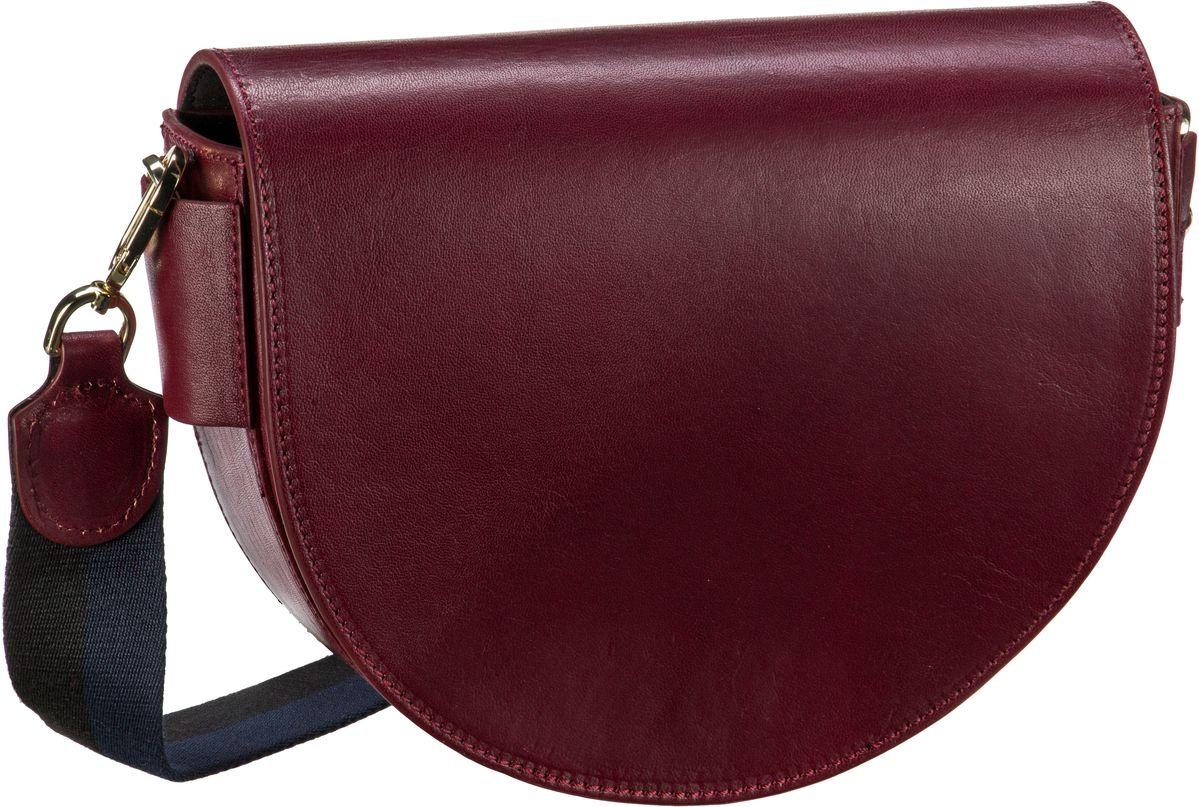 Schultertaschen für Frauen - Liebeskind Berlin Umhängetasche MixeDbag Bordeaux Red  - Onlineshop Taschenkaufhaus
