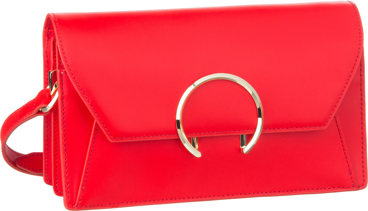 Berlin Handtasche Daddy5 Clutch Summer Red