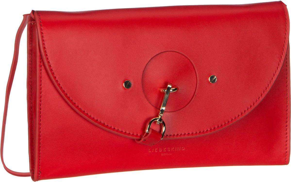 Berlin Handtasche ClutchS Round Flap Vachetta Red