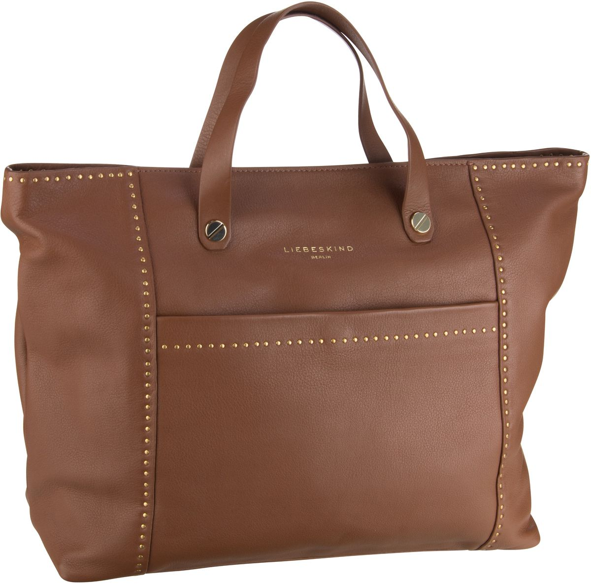 Liebeskind Berlin Shopper Stud Love Tote L Bourbon