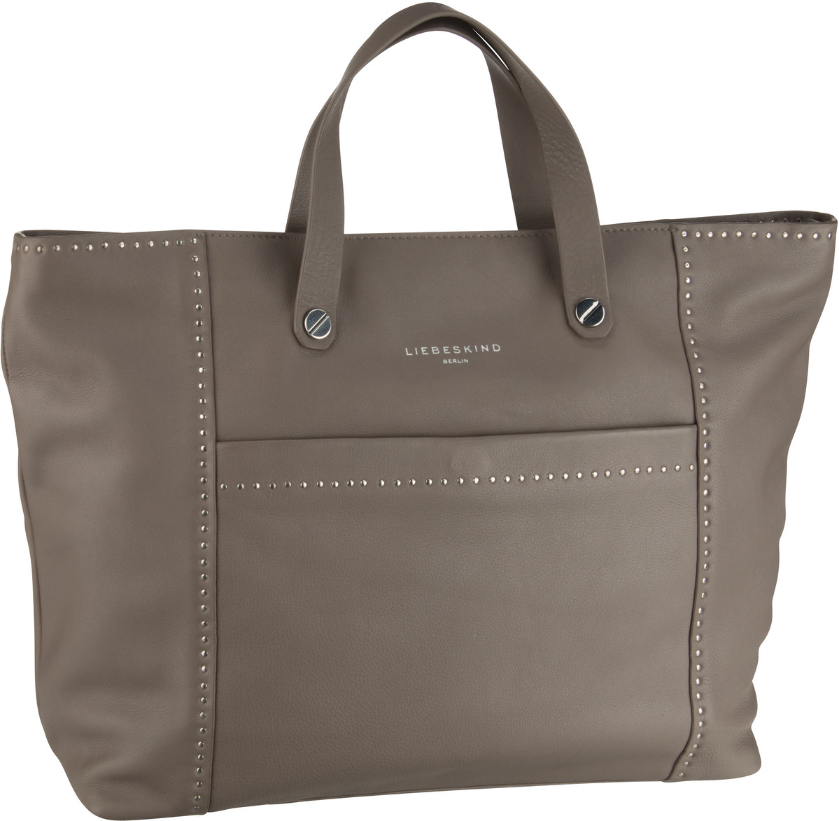 Liebeskind Berlin Shopper Stud Love Tote L Cold Grey