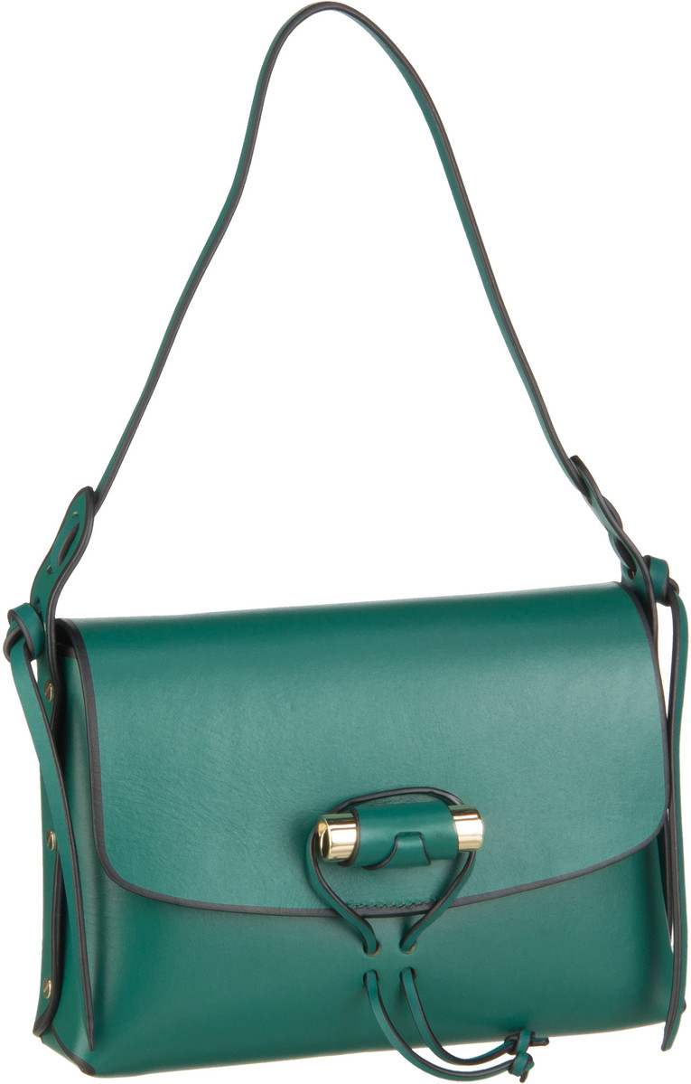 Liebeskind Berlin Handtasche Edge Bag Shoulder Bag M Alpine Green