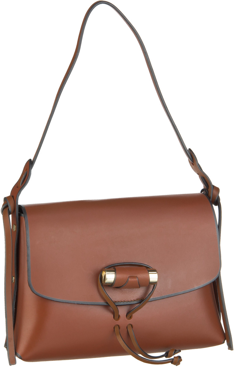 Liebeskind Berlin Handtasche Edge Bag Shoulder Bag M Bourbon