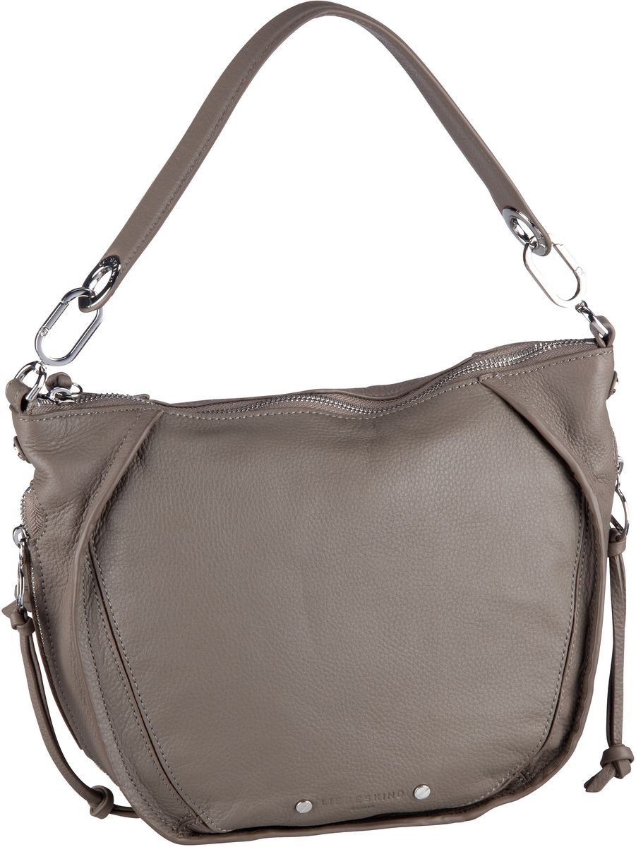 Handtaschen für Frauen - Liebeskind Berlin Handtasche Saddy Crossbody S Cold Grey  - Onlineshop Taschenkaufhaus