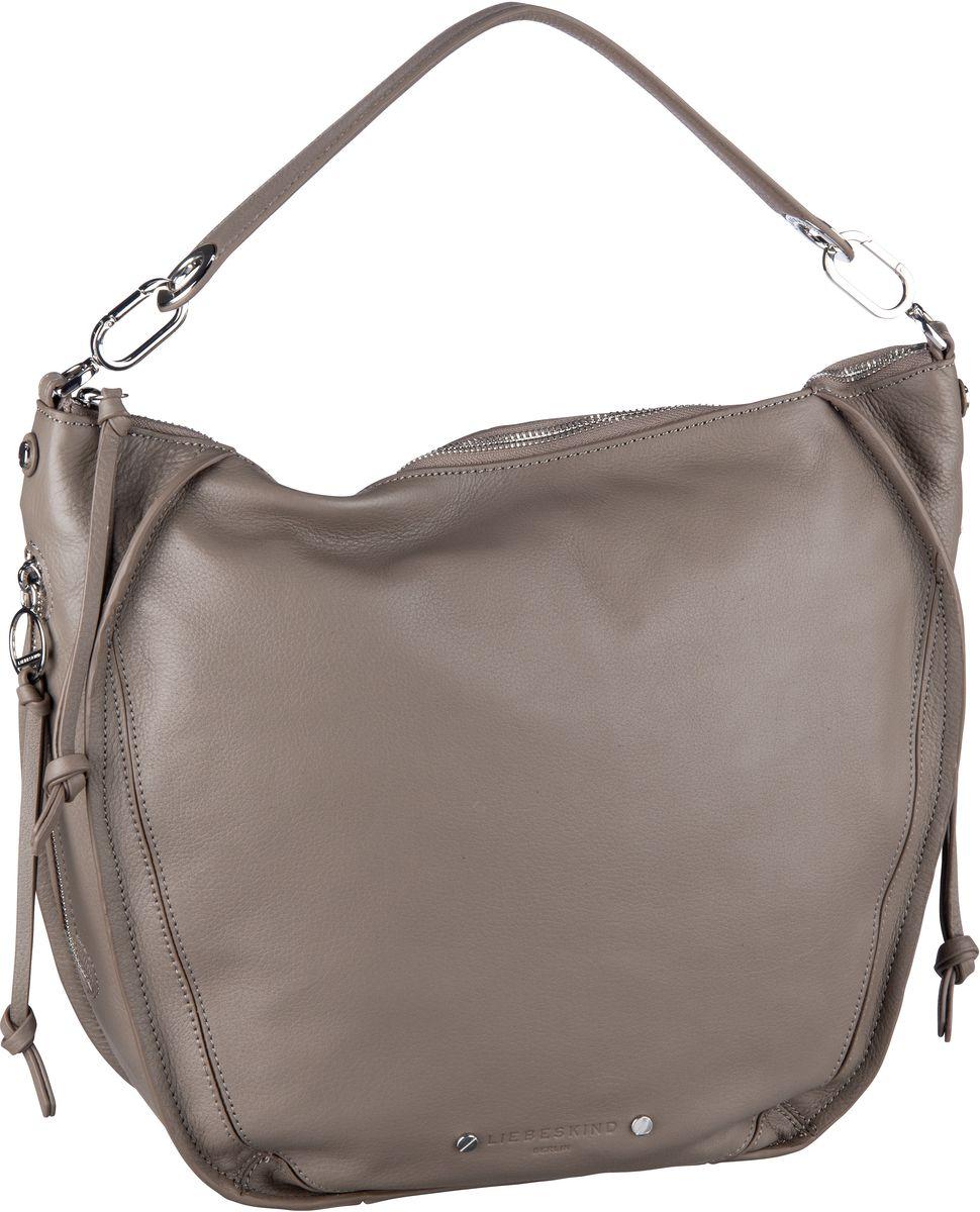 Handtaschen für Frauen - Liebeskind Berlin Handtasche Saddy Crossbody M Cold Grey  - Onlineshop Taschenkaufhaus