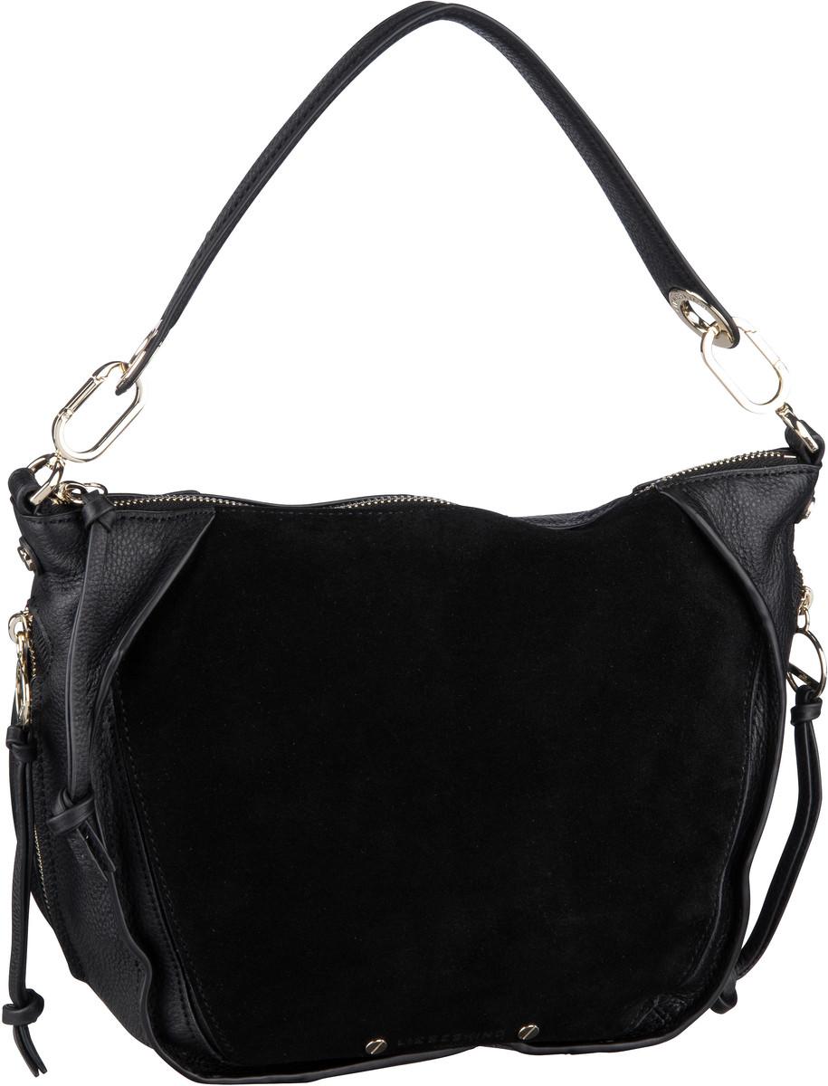Handtaschen für Frauen - Liebeskind Berlin Handtasche Saddy Suede Crossbody S Black  - Onlineshop Taschenkaufhaus