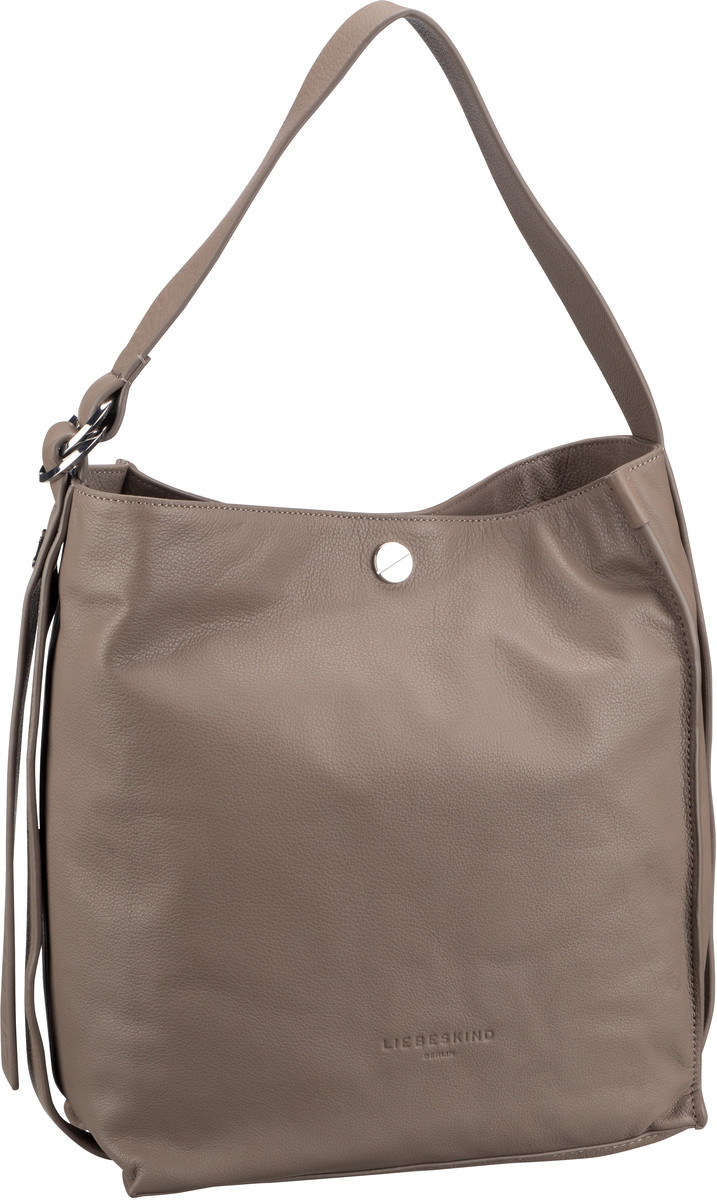 Berlin Handtasche Ring Ring Hobo M Cold Grey