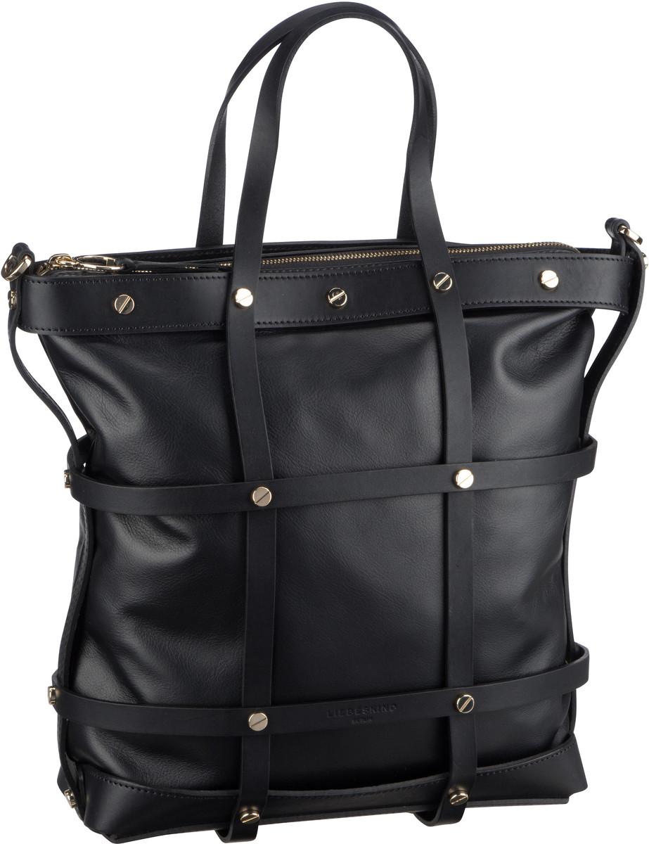 Berlin Handtasche Cage Tote M Black