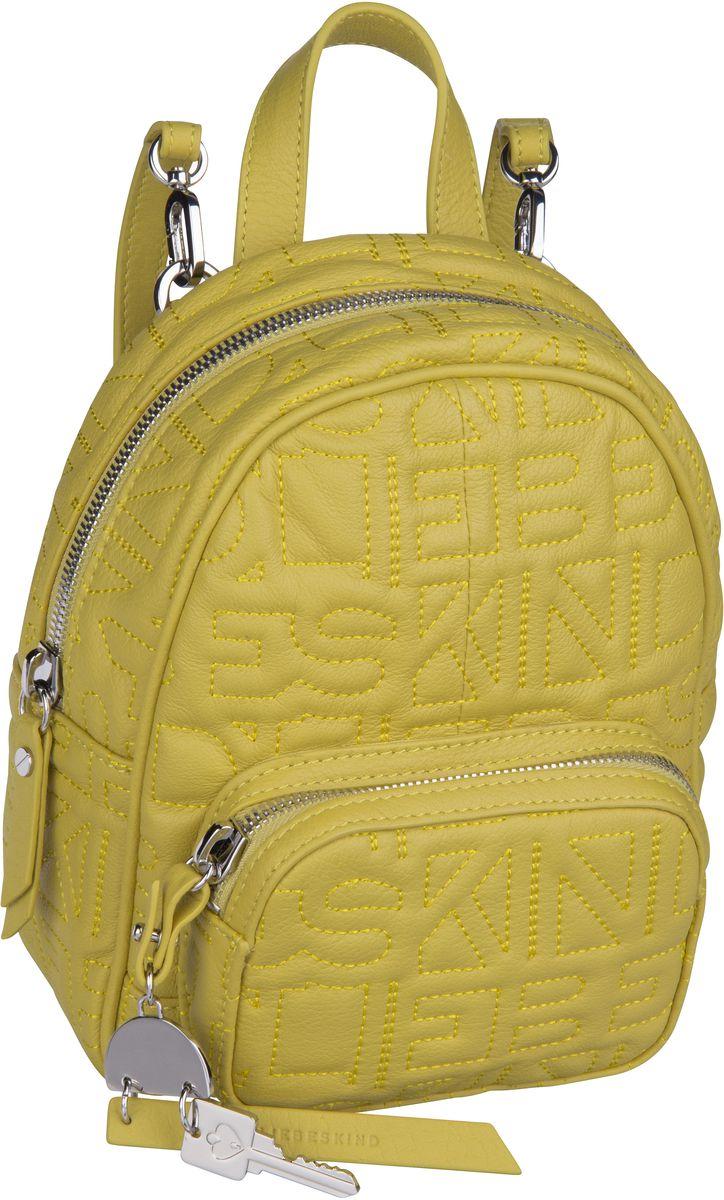 Berlin Rucksack / Daypack Urban Monogram Backpack S Senf Yellow