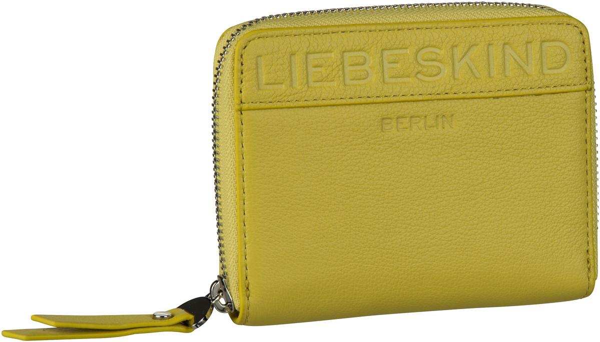 Liebeskind Berlin Geldbörse Urban Monogram Conny W8 Senf Yellow