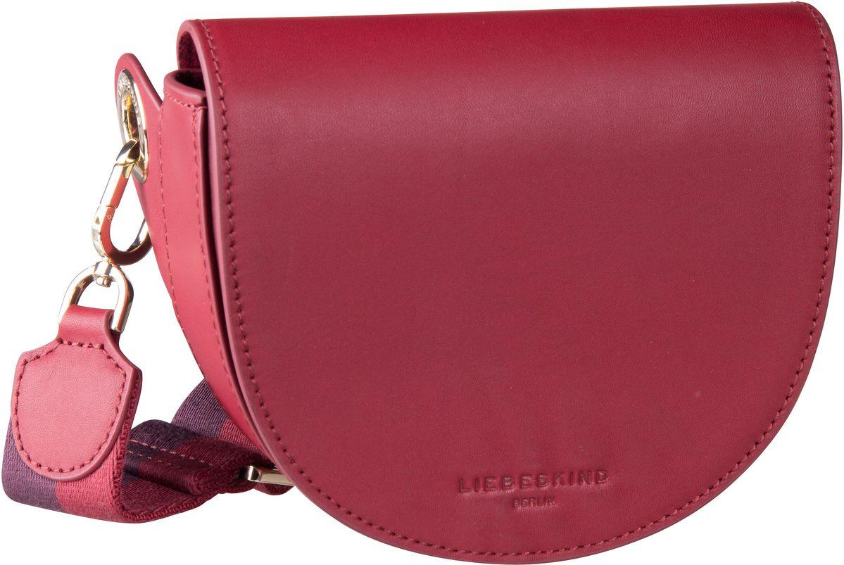 Kleinwaren für Frauen - Liebeskind Berlin Gürteltasche MixeDbag Vacchetta Belt Bag W8 Dahlia Red  - Onlineshop Taschenkaufhaus