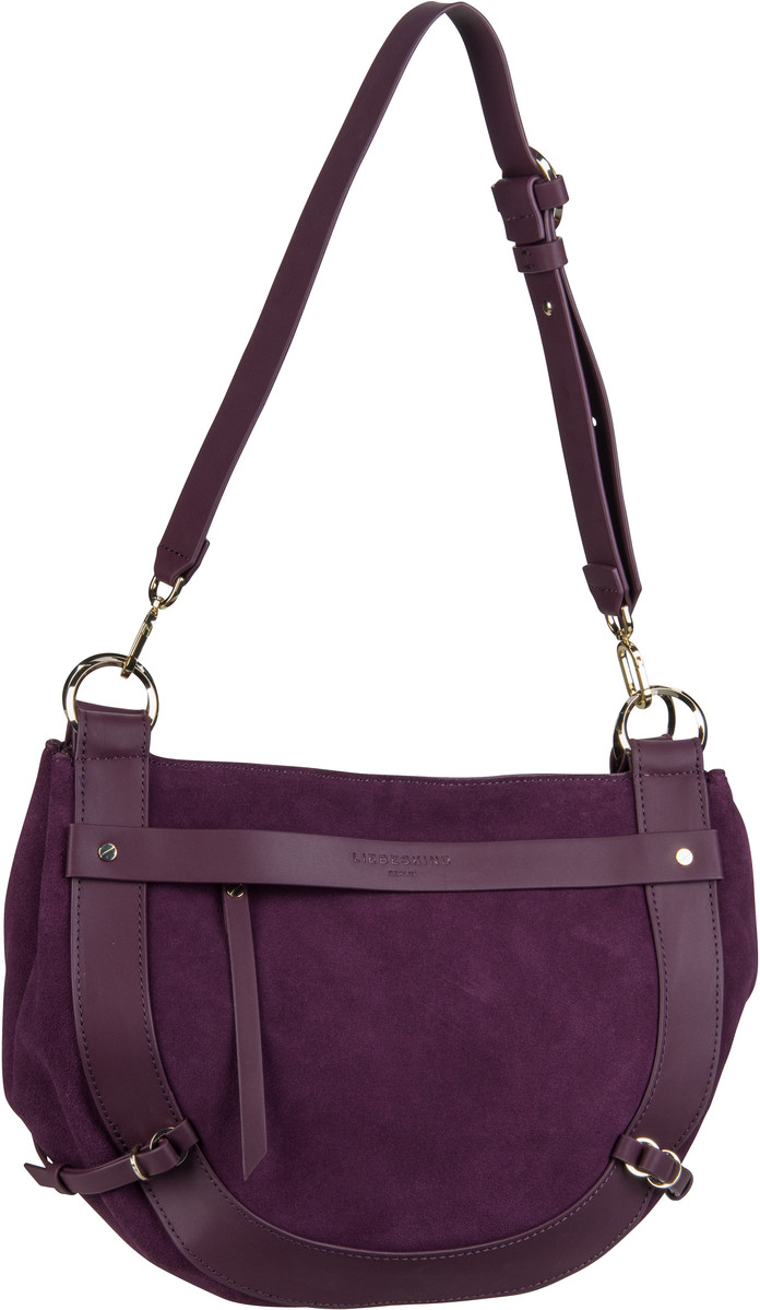 Liebeskind Berlin Handtasche New Saddle Hobo M Fig