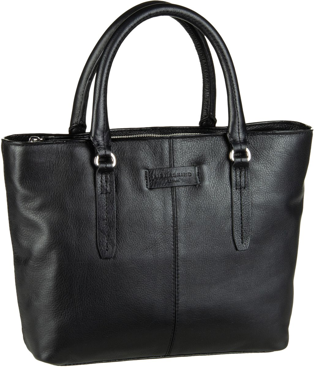 Berlin Handtasche Essential Satchel M Black