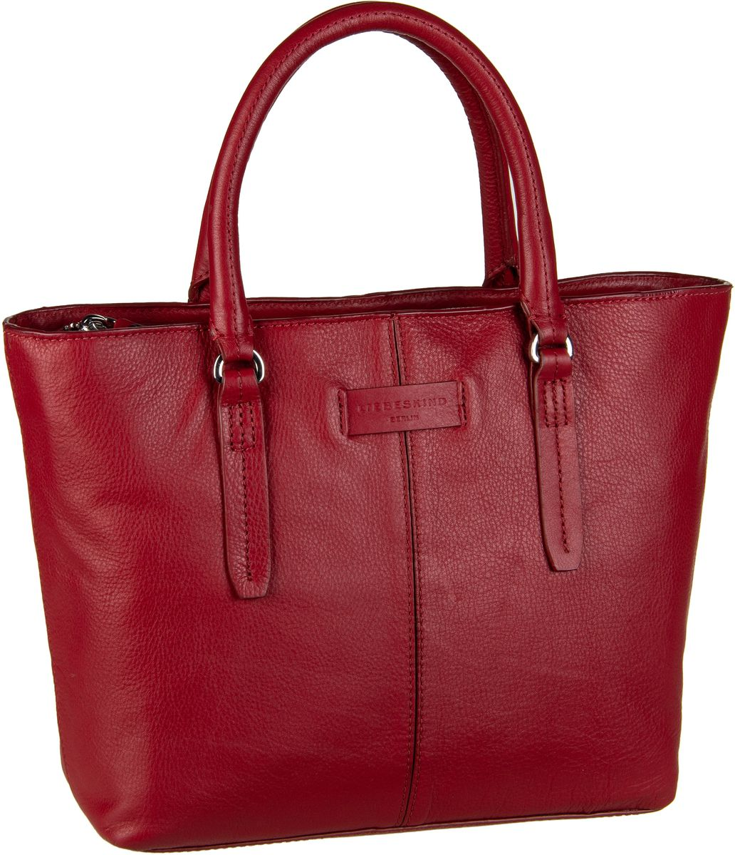 Berlin Handtasche Essential Satchel M Italian Red