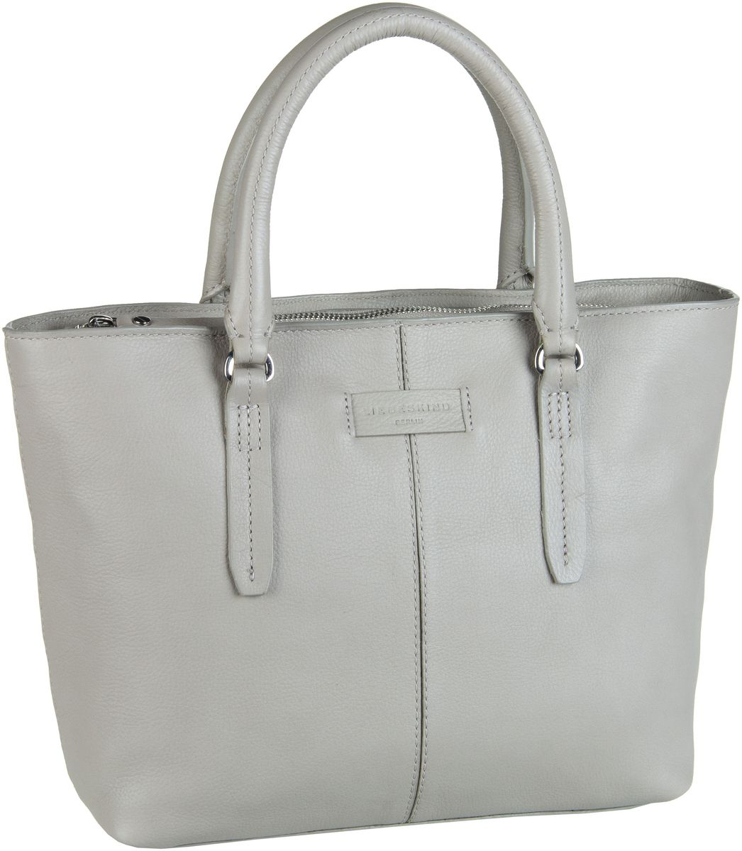 Berlin Handtasche Essential Satchel M String Grey
