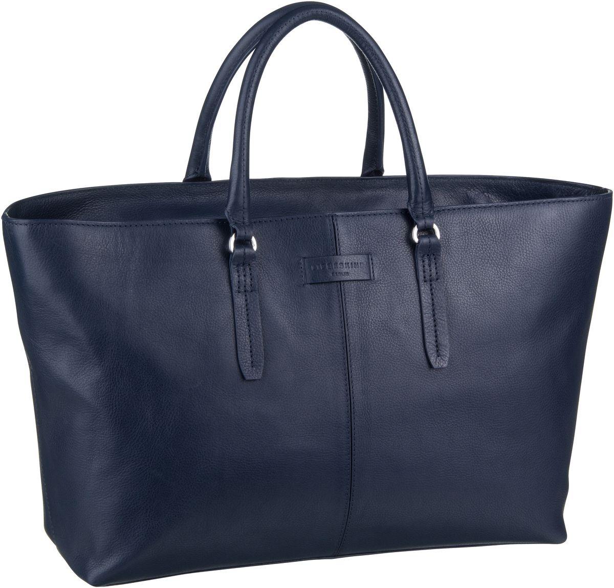 Berlin Shopper Essential Satchel L Navy Blue