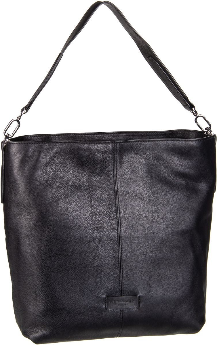 Berlin Handtasche Essential Hobo M Black