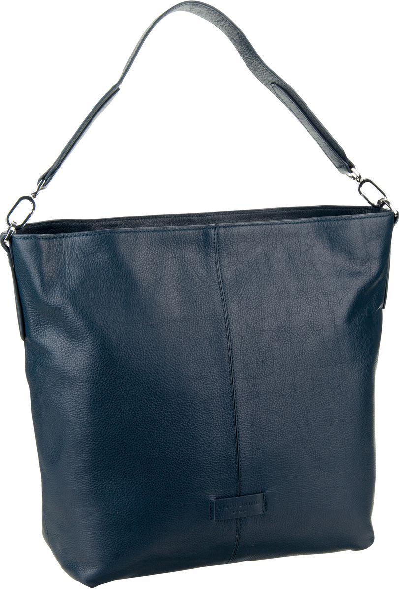 Berlin Handtasche Essential Hobo M Navy Blue